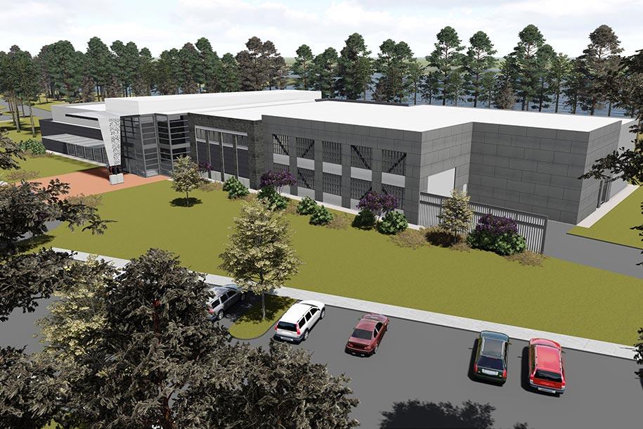 GA Advanced Manufacturing Center, Pooler, GA – Hussey Gay Bell